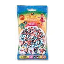 Hama - Sachet de 1000 perles Midi : Bicolores