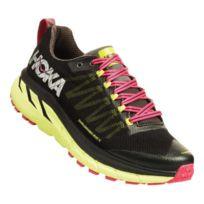 c0750c2d62 Hoka One One - Chaussures Challenger Atr 4 noir rose jaune néon femme