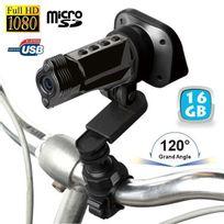 Yonis - Caméra sport embarquée Full Hd 1080P grand angle 120° Yo Gun 16 Go