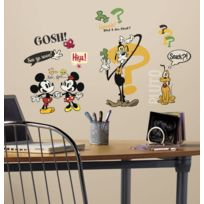 Roommates - 27 Stickers Mickey Mouse et ses amis Disney Classic