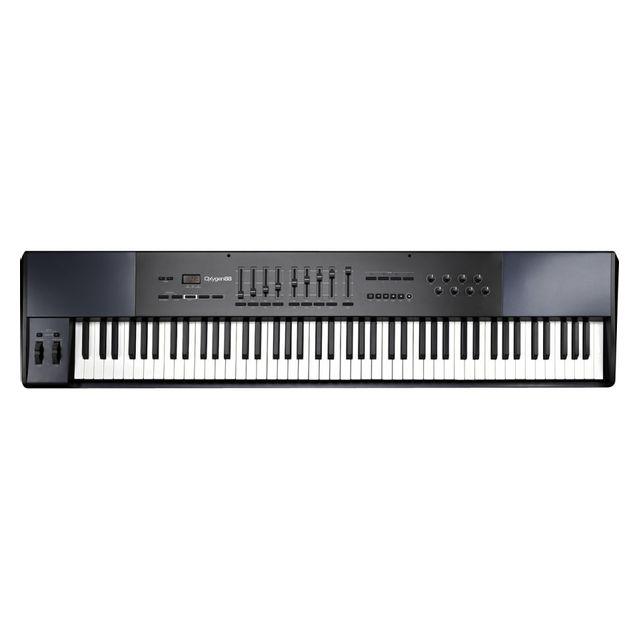 m audio oxygen 88 clavier ma tre usb 88 touches pas cher achat vente claviers ma tres. Black Bedroom Furniture Sets. Home Design Ideas