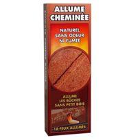Pyrofeu - Allume cheminée 9 plaquettes