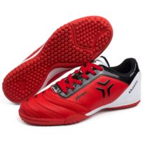 Wewoo - Chaussures de foot rouge Pu Football Chaussures, Eu Taille: 33