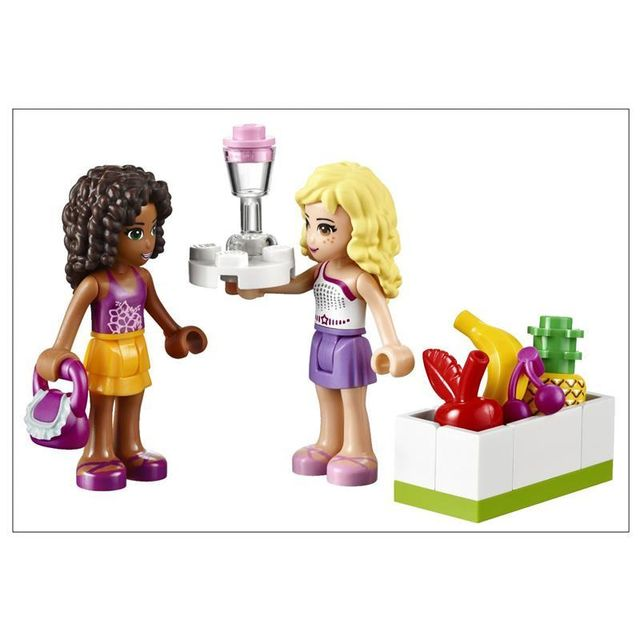 Lego - 41035 - ® Friends - Le bar à smoothie de Heartlake City