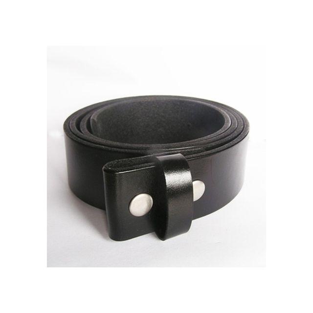 Universel - 3XL 145 cm ceinture en cuir véritable noir homme femme pleine  fleur 3aa22a5cb0c