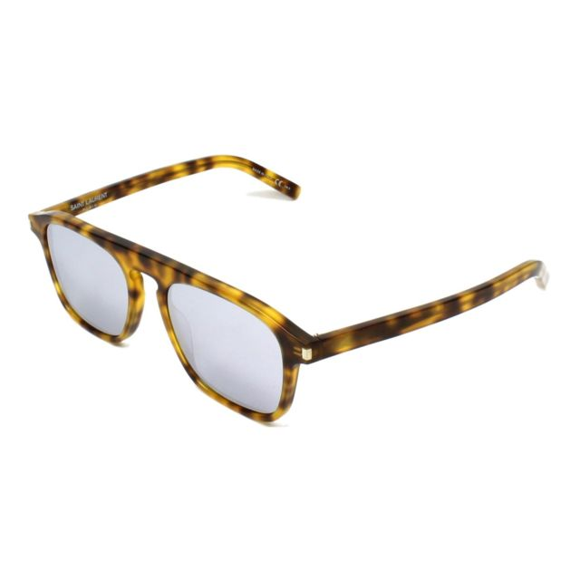 yves saint laurent lunettes de soleil sl 158 003 homme. Black Bedroom Furniture Sets. Home Design Ideas