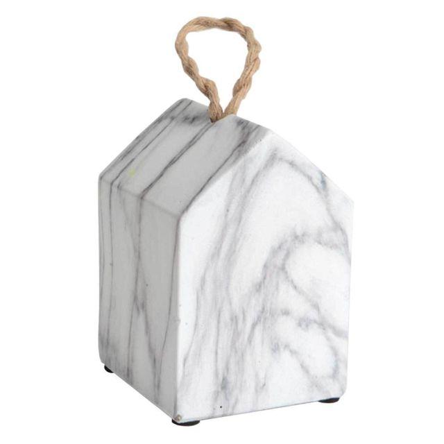Amadeus - Maison déco effet marbre 12 cm