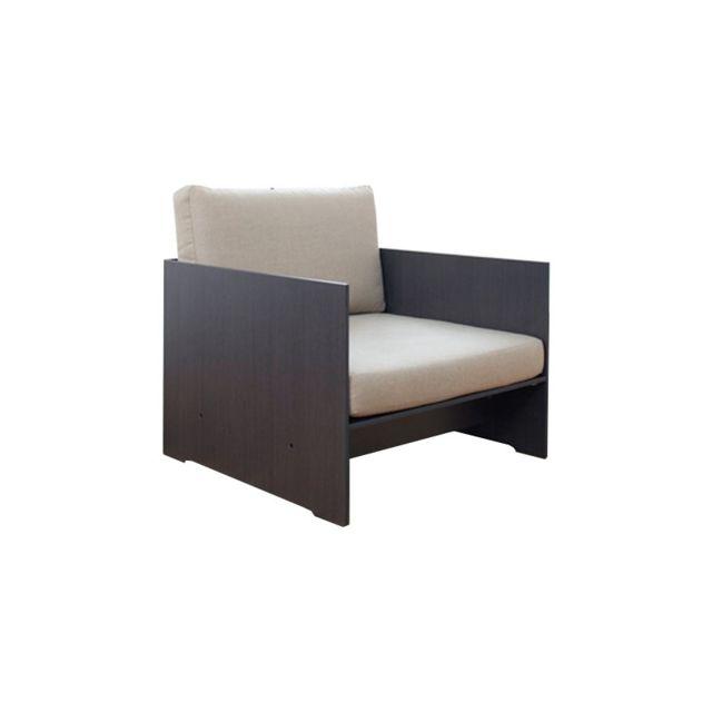 Conmoto Set de coussins pour fauteuil Riva Lounger - Support anthracite