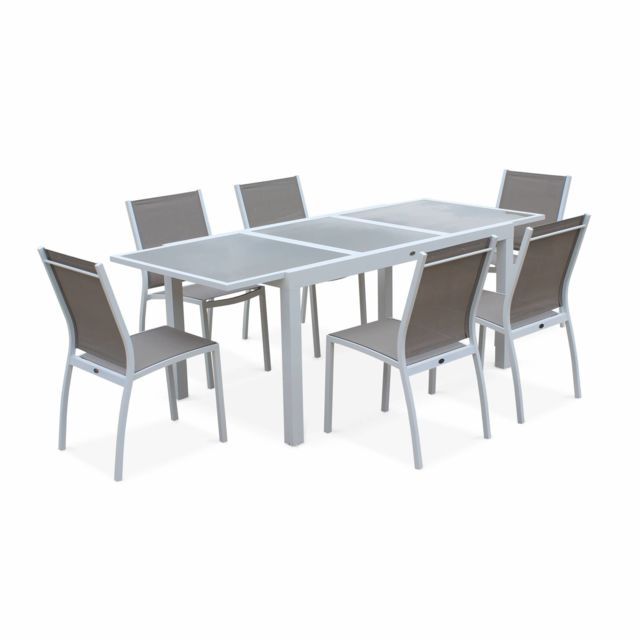 Salon jardin table extensible - Achat Salon jardin table extensible ...