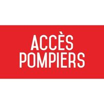 Editions Uttscheid - Acc?s pompiers - L.200 x H.100 mm