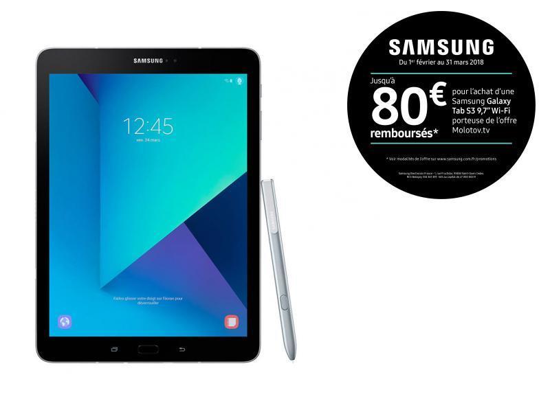 """Galaxy Tab S3 - 9,7"""" - 32 Go - Argent"""