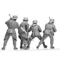 Master Box - Figurines 2ème Guerre Mondiale : Panzergrenadier allemands : Front Ouest 1944-1945