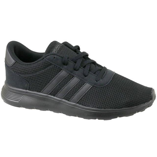 75ca63212ef90 Adidas - Lite Racer K Bc0073 Noir - pas cher Achat   Vente Baskets enfant -  RueDuCommerce