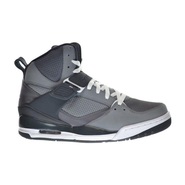 brand new 85b99 8c409 Nike - Basket Jordan Flight 45 High 616816-034 Gris 616816-034-46 - 12 -  pas cher Achat   Vente Baskets homme - RueDuCommerce