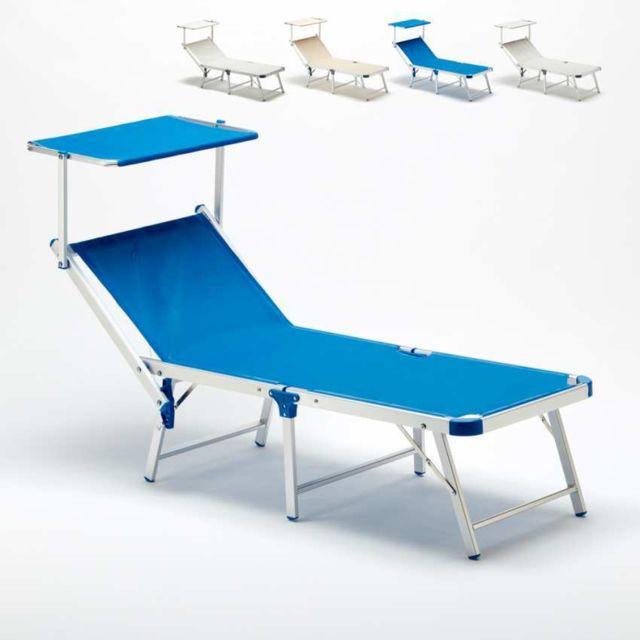 beach and garden design bain de soleil pliant transat plage alum - Transat De Plage