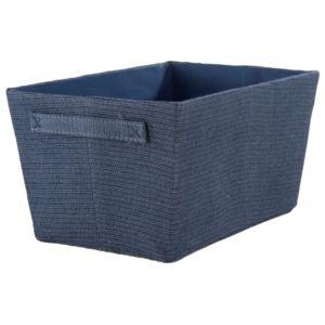 compactor rio panier tiss bleu marine ran6514 pas cher achat vente bo te de. Black Bedroom Furniture Sets. Home Design Ideas