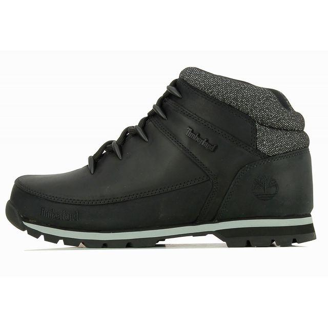 Timberland - Boots Euro Sprint Hiker Mid - Ref. A18OX Noir