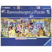 RAVENSBURGER - Puzzle Photo de groupe Disney 1000p - 15109
