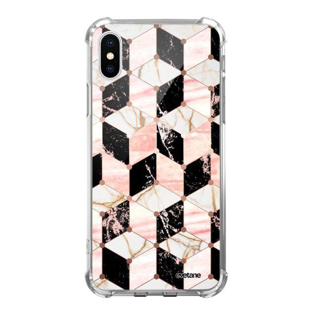 coque iphone xr antichoc marbre