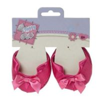 Tatty Teddy - G01Q5650 - Peluche - Chaussure Noeud - Rose