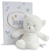 Doudou Et Compagnie - Le Doudou - Pantin Ours Blanc 26 cm