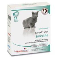 Easypill - Smectite Compléments alimentaires anti-diarrhée pour chats