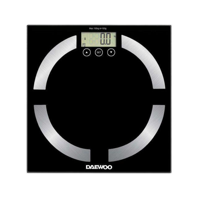 DAEWOO Pèse-personne noir DBS-6025