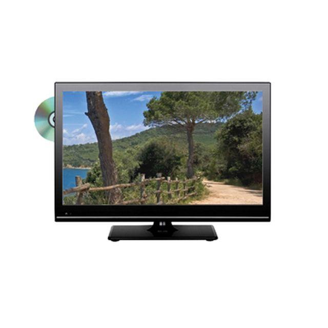 "Marque Generique Tv camping car 22"" led dvd hd Tuner Tnt Hd Mpeg4 Format : 16/9 Diagonale : 54,6 cm."