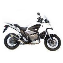 Leovince - Silencieux Lv One Homologue Evo Ii Position Origine - Carbonne - Honda Crosstourer 1200 2012