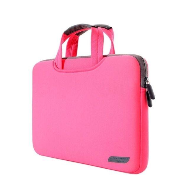 d001117057 Yonis - Sacoche ordinateur portable MacBook Pro Pc mousse antichoc 15.4'  résistant Rose - pas cher Achat / Vente Sacoche, Housse et Sac à dos pour  ...