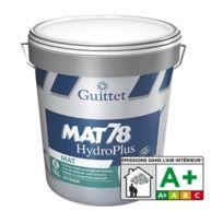 Guittet   Peinture Acrylique Mat 78 HydroPlus Blanc 3L   2367