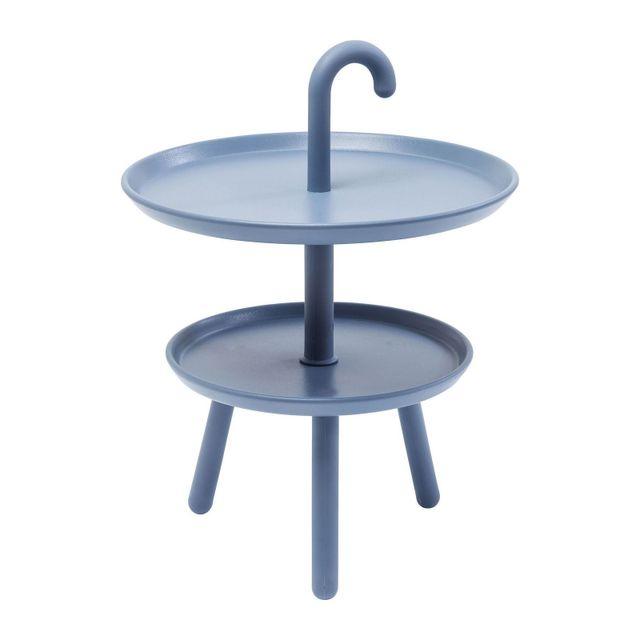 Karedesign - Table d appoint Jacky bleue 42cm Kare Design 42cm x 56cm x 42cm