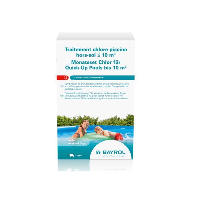 bayrol traitement au chlore pour piscine hors sol de 10 m pas cher achat vente produits. Black Bedroom Furniture Sets. Home Design Ideas