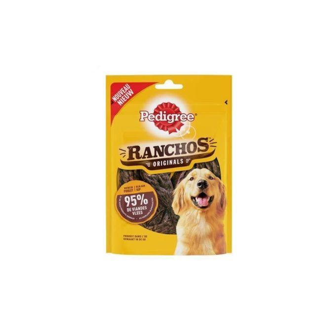 Pedigree Lot de 7 Récompenses riche en poulet Ranchos - Pour chien - 70 g