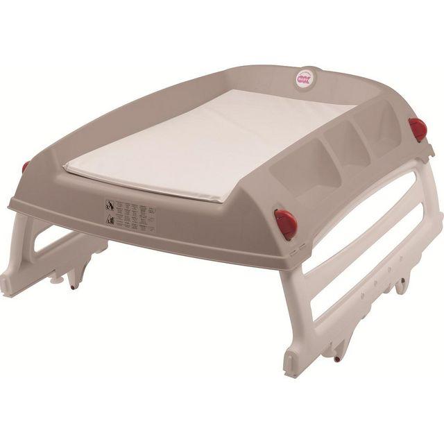 Babysun nursery plan a langer pliable b b flat taupe pas cher achat vente table - Babysun nursery table a langer ...