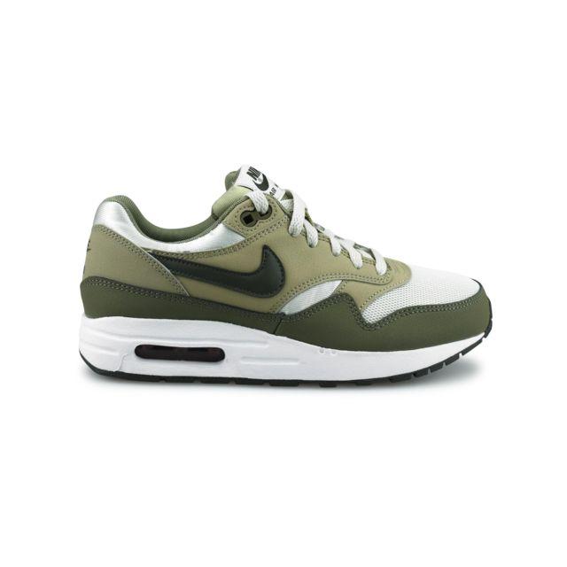 online retailer bc09b 2bf3e Nike - Air Max 1 Junior Kaki 807602-200 - pas cher Achat  Vente Baskets  enfant - RueDuCommerce