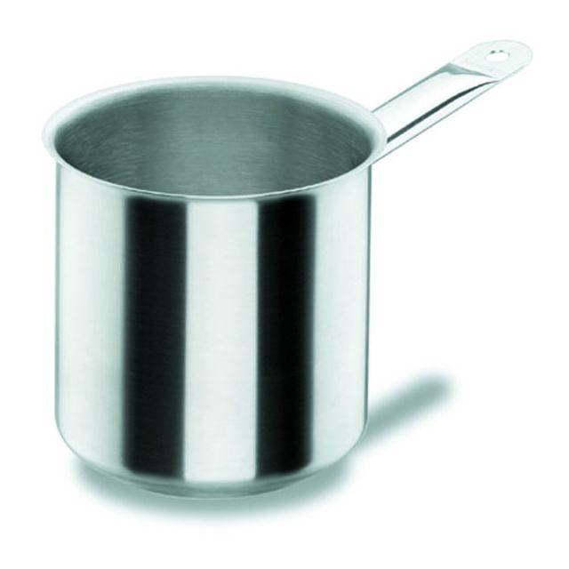 lacor casserole bain marie avec fond en inox 18 10 16 cm chef classic pas cher achat. Black Bedroom Furniture Sets. Home Design Ideas