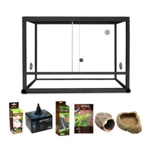 reptiles planet kit serpent terrarium elegance alu. Black Bedroom Furniture Sets. Home Design Ideas