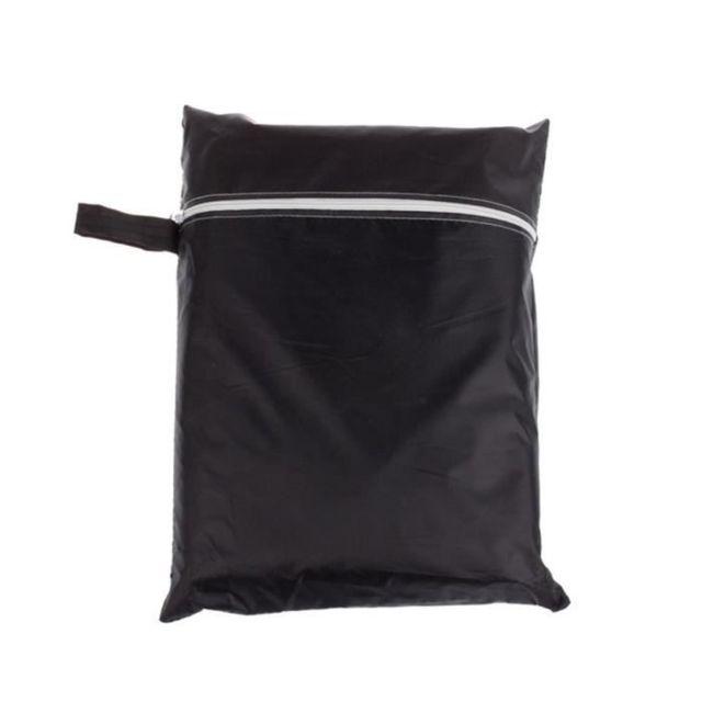 170 61 117cm Noir Bbq imperméable couverture pluie extérieur Barbecue Grill Protecteur pour le gaz au charbon