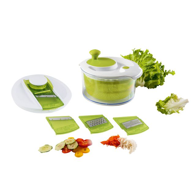 Kitchen Artist Set essoreuse à salade et mandoline - Men218A