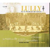 Musidisc - Jean-Baptiste Lully - Les Plaisirs de l'ile Enchantée, Les Airs de trompette et hautbois pour le Carousel de onseigneur, la Grotte de Versailles : Eglogue en musique Vol. Iii Boitier cristal