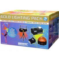 Power Lighting - Gold Lighting Pack - Véritable Pack Plug & Play Pack lumière tout en un