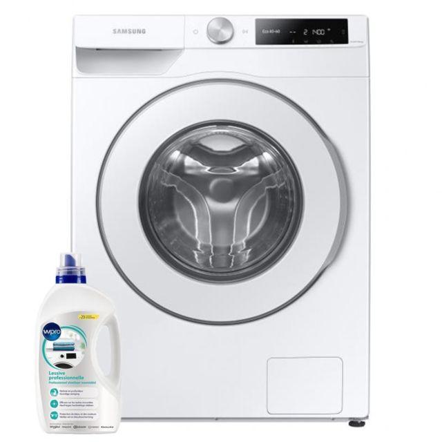 Samsung Lave-linge frontal 9kg A+++ 1400trs/min Connecté Wi-fi Machine à laver hublot