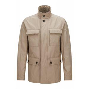 veste saharienne homme hugo boss les vestes la mode sont populaires partout dans le monde. Black Bedroom Furniture Sets. Home Design Ideas
