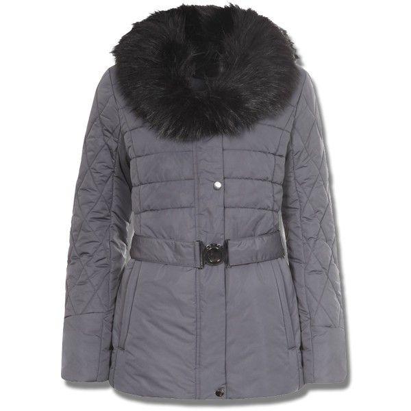 Manteau femme gris soldes