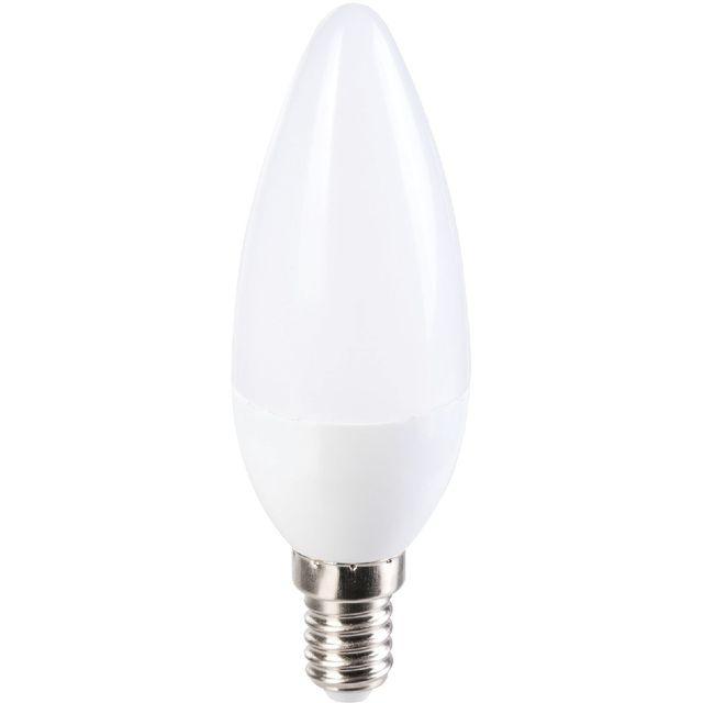 dhome ampoule led flamme e14 470lum 5 6w pas cher achat vente ampoules led rueducommerce. Black Bedroom Furniture Sets. Home Design Ideas