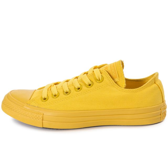 converse all star jaune moutarde