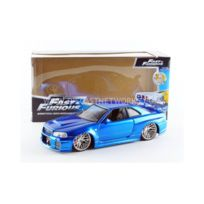 Jada Toys - 1/24 - Nissan Skyline Gtr R34 - Fast And Furious - 97173BL