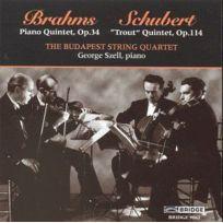 Bridge - Brahms - Schubert : Quintettes pour piano