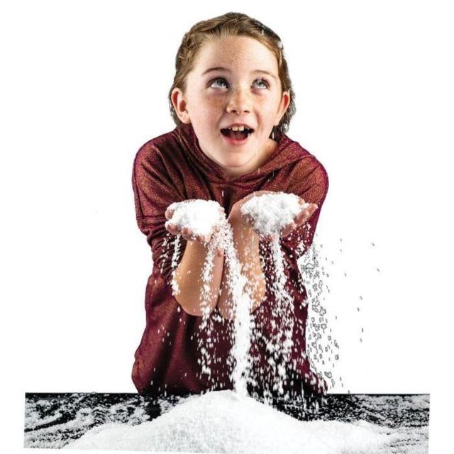 Icaverne Experience Scientifique - Experience Physique-chimie National Geographic - Kit découverte - neige instantanée a créer -